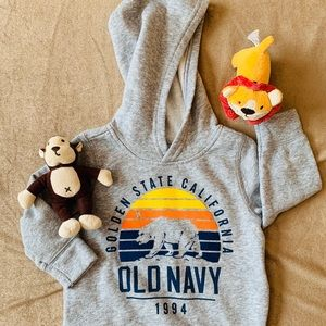 New Toddlers 12-18 Month Hooded Sweatshirt